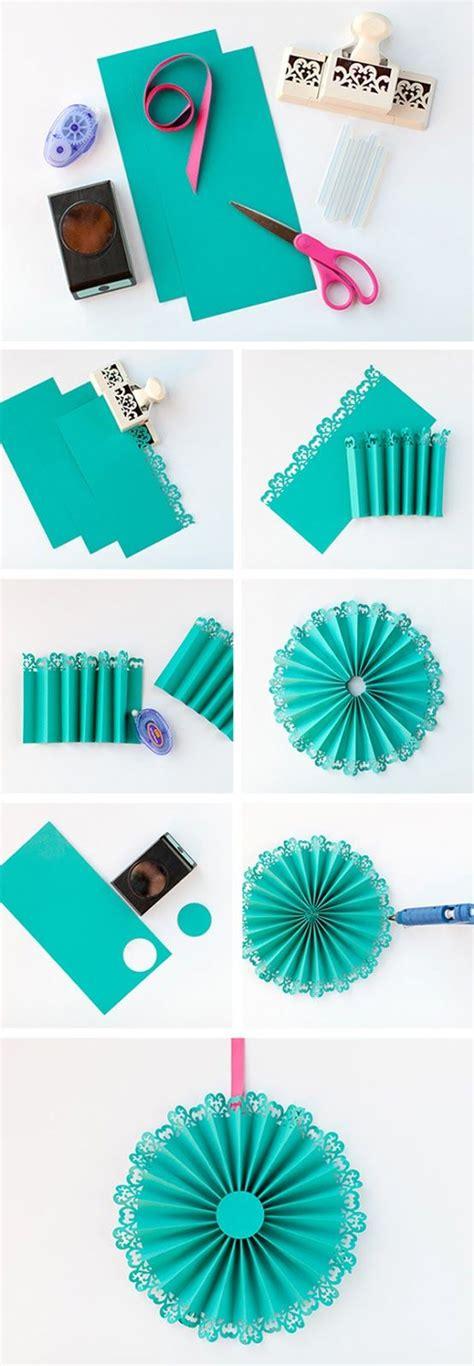 diy de medallones de papel hacer guirnaldas