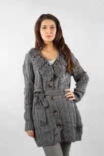 Bonanza grey color women winter wear sweater