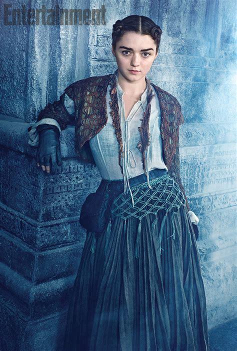 Ayra Syari arya stark gets ladylike makeover in of thrones season 5 cnet