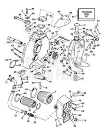 Volvo Marine Parts Volvo Penta Exploded View Schematic Transom Shield Sx S