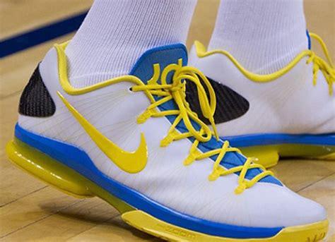 Sepatu Basket Nike Kd 10 Finals Pe Blue zapatilla nike kd v elite quot playoffs home quot basketspirit