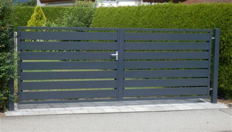 Gartentor Aluminium