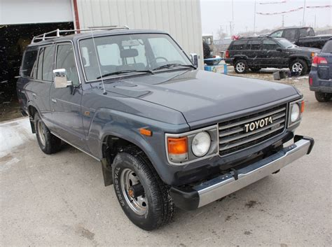 Toyota Land Cruiser 205 77k Mile 1987 Toyota Land Cruiser Hj60 Diesel For Sale On