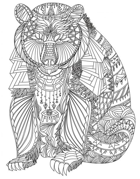 coloring pages for therapy http colorings co bear coloring pages for adults