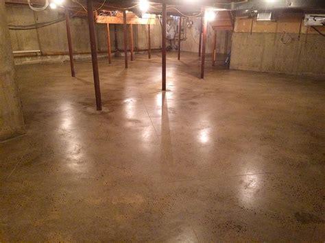 polished concrete basement floor rye brook elite
