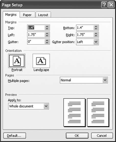 letter paper margins paragraphwriting x fc2