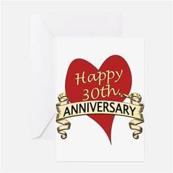 30th wedding anniversary 30th wedding anniversary greeting cards card ideas sayings designs