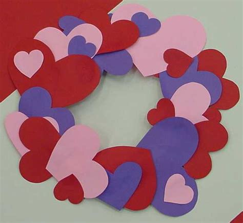Construction Paper Valentines Day Crafts - s day crafts for 24 7