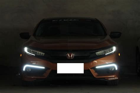 drl honda civic warning light oem fit led daytime running lights for 2016 up honda civic