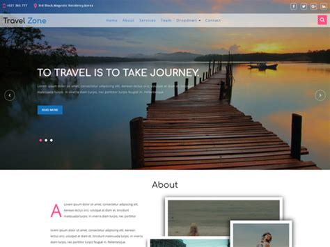 bootstrap templates for travel free download travel zone free travel bootstrap template freemium download