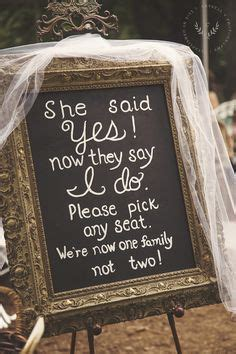 Wedding Ceremony Yes I Do by Printable Large Wedding Signs Rustic Wedding Ideas