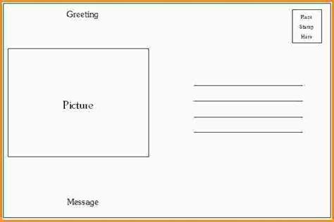 microsoft word 4x6 postcard template microsoft word 4x6 postcard template 4x6 postcard template