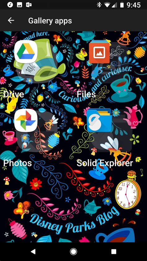 excellent themes for android the invisible home screen an ultra minimal theme and