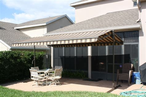 Sun Setter Awnings by Freestanding Awnings Orlando Fl Daytona Space Coast
