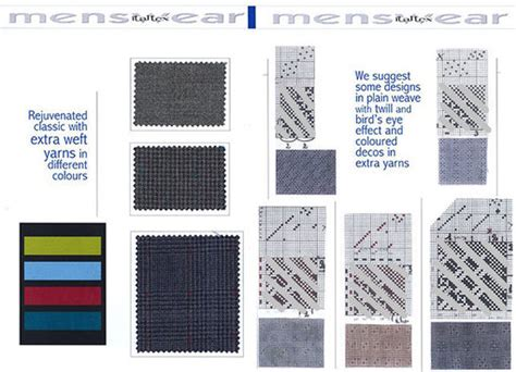 fabric pattern trends 2016 italtex menswear fabric trend aw 2016 17 trends 548679