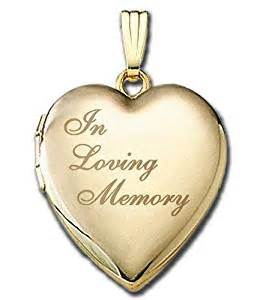 in loving memory lockets solid 14k yellow gold quot in loving memory quot locket 3 4 inch x 3 4 inch in solid 14k