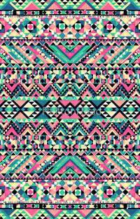 Pink Turquoise Girly Aztec Andes Tribal Pattern   iPhone 7   Snap