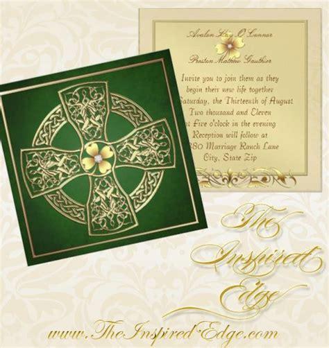 Celtic Wedding Invitations by Celtic Cross Wedding Invitation