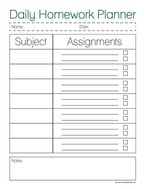 free printable student planner high school pinterest the world s catalog of ideas