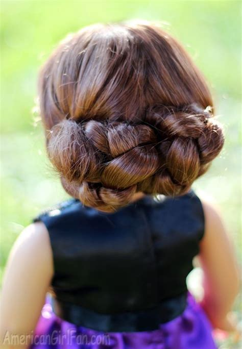 how to mack a bun in a dall hade best 25 american girl hairstyles ideas on pinterest ag