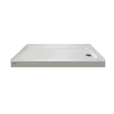 30 X 60 Shower Base by Shop Primo Oyster Acrylic Shower Base Common 30 In W X 60 In L Actual 30 In W X 60