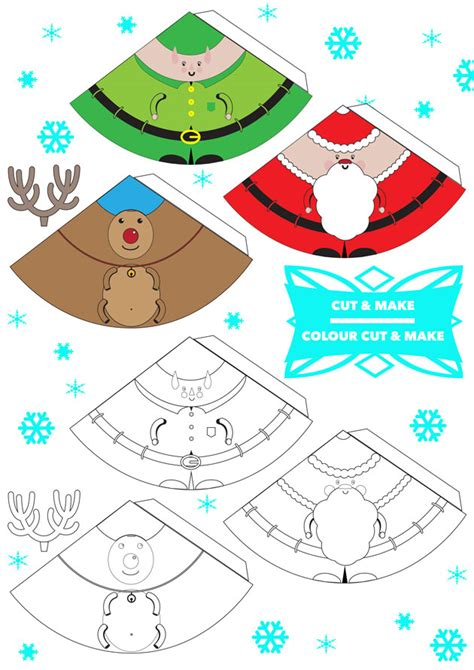 free printable christmas decorations printable decorations happy holidays