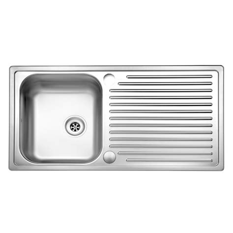 Single Bowl Kitchen Sink With Drainer Reginox Duchess Single Bowl Sink And Drainer Sinks Taps