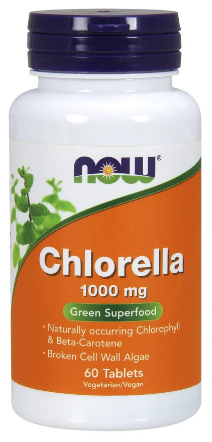 Chlorella Iron Detox by Chlorella Chlorella Tablets Now Foods
