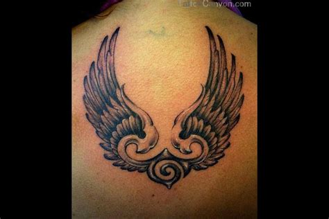 modern cross tattoos picture hd abstract cross wings designs