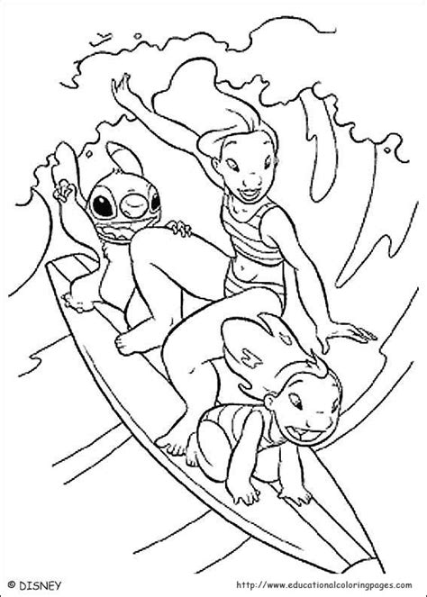 free lilo and stitch coloring pages to print lilo and stitch coloring educational fun kids coloring