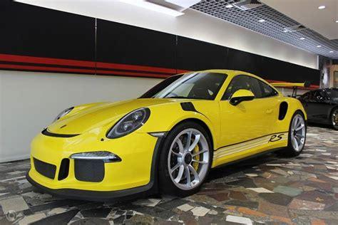 porsche gt3 rs yellow australian porsche 911 gt3 rs pdk has awesome all yellow