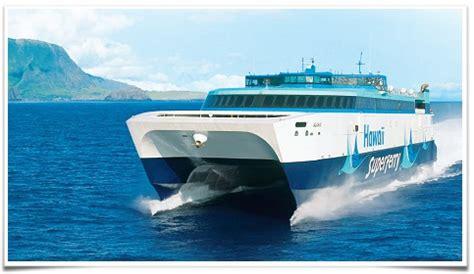 boat from maui to honolulu flights from oahu to maui alternative hawaii ferry