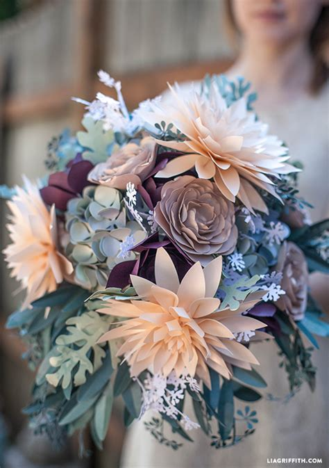 Bouquet With Paper - 10 diy paper flowers tutorials that will add the wow to