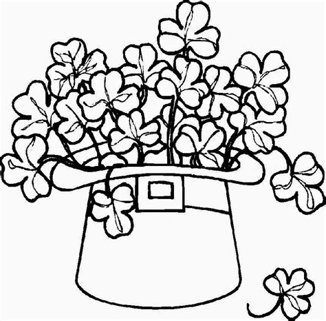 coloring book pages st day shamrock coloring pages free coloring pictures