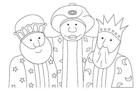 imagenes de reyes magos animados para colorear dibujos para colorear de los reyes magos para imprimir