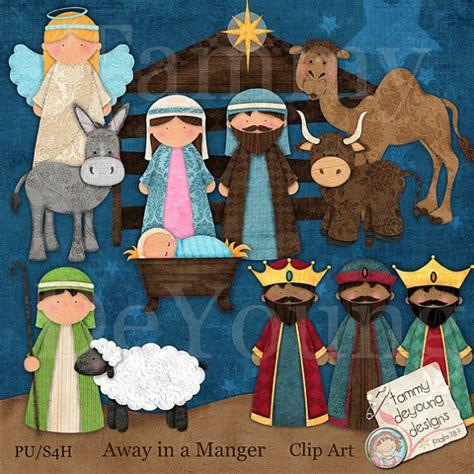 Nativity Paper Craft - nativity clip clip digital images