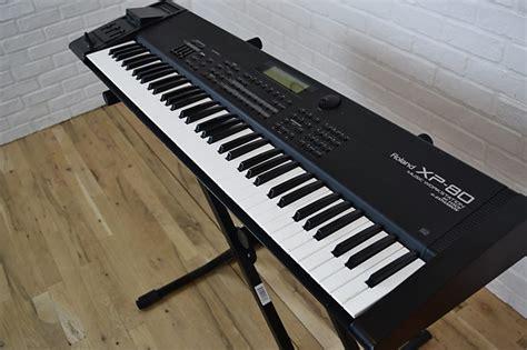 Keyboard Roland Xp 80 roland xp 80 keyboard synthesizer near mint used electric