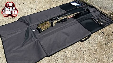 Rug Shooers Reviews by Ruger Shooting Mat And Rifle Bag By Allen Co Review