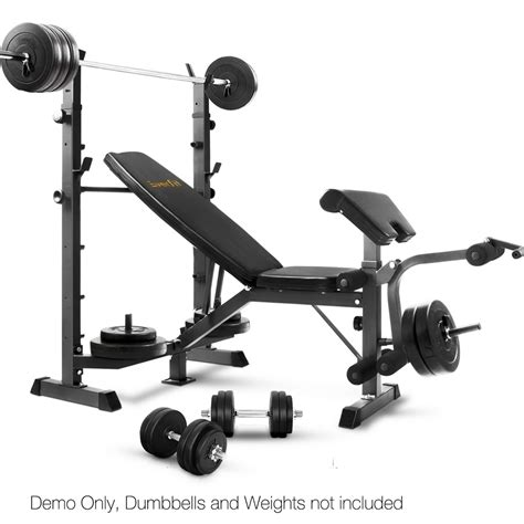 Multi Functional Fitness Bench Black