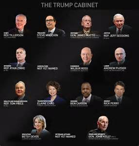 how many are in the us cabinet s cabinet is mostly white and what will that