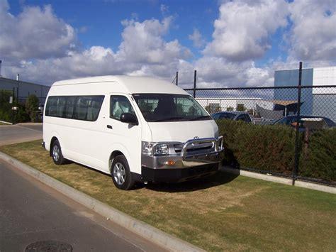 Toyota Hiace Commuter Accessories Toyota Hiace Commuter Slwb Aluminium Auto