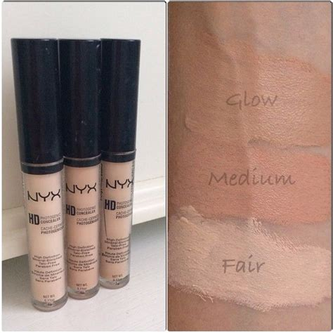 Nyx Hd Concealer Photogenic nyx hd photogenic concealer follow my instagram