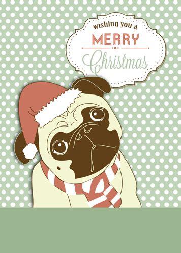 funny pug dog christmas wishes! free humor & pranks ecards