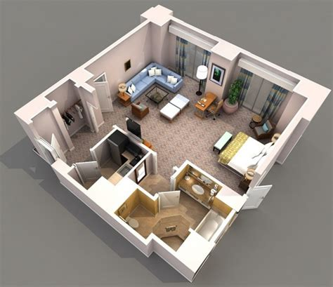 Studio Apt Floor Plan by Studio Apartment Floor Plans
