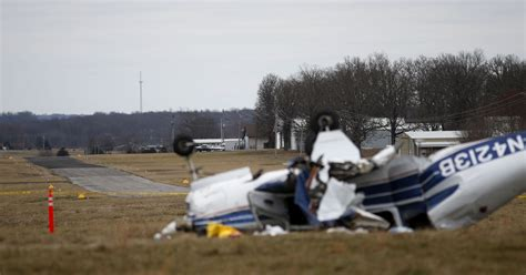 plane crash small plane crash in christian county sends two to hospital
