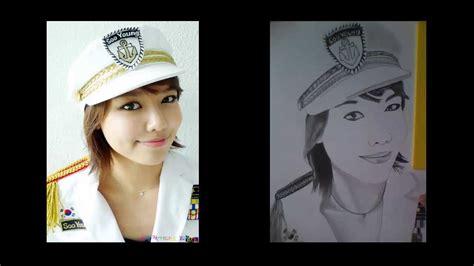 imagenes de actrices coreanas dibujo a lapiz coreanas youtube