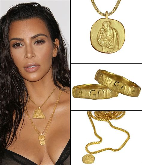 khloe kardashian coin necklace pics kanye west s 13k jewelry collection with jacob the
