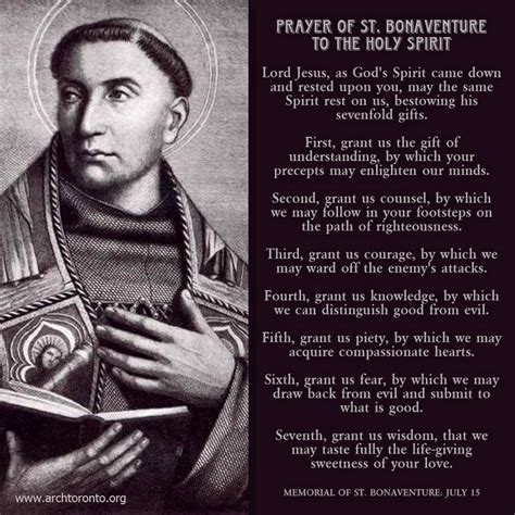 prayer of st 17 best images about st bonaventure on july