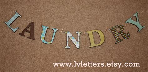 Laundry Letters by Cupcake Cutiees Laundry Letters By Lvletters
