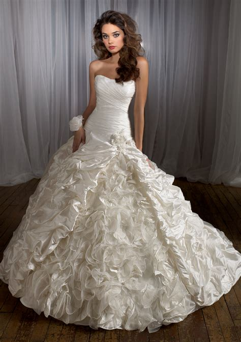 Beautiful Wedding Dresses by 35 Most Beautiful Wedding Dress